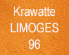 Krawatte unicolor • Seide Orange 96